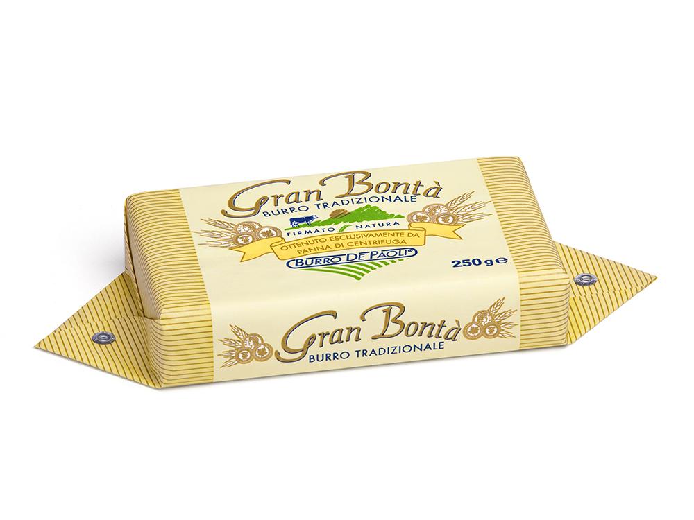 תמונת מוצר ראשית_חמאה איטלקית משובחת פאולי 250 גרם_2 2
