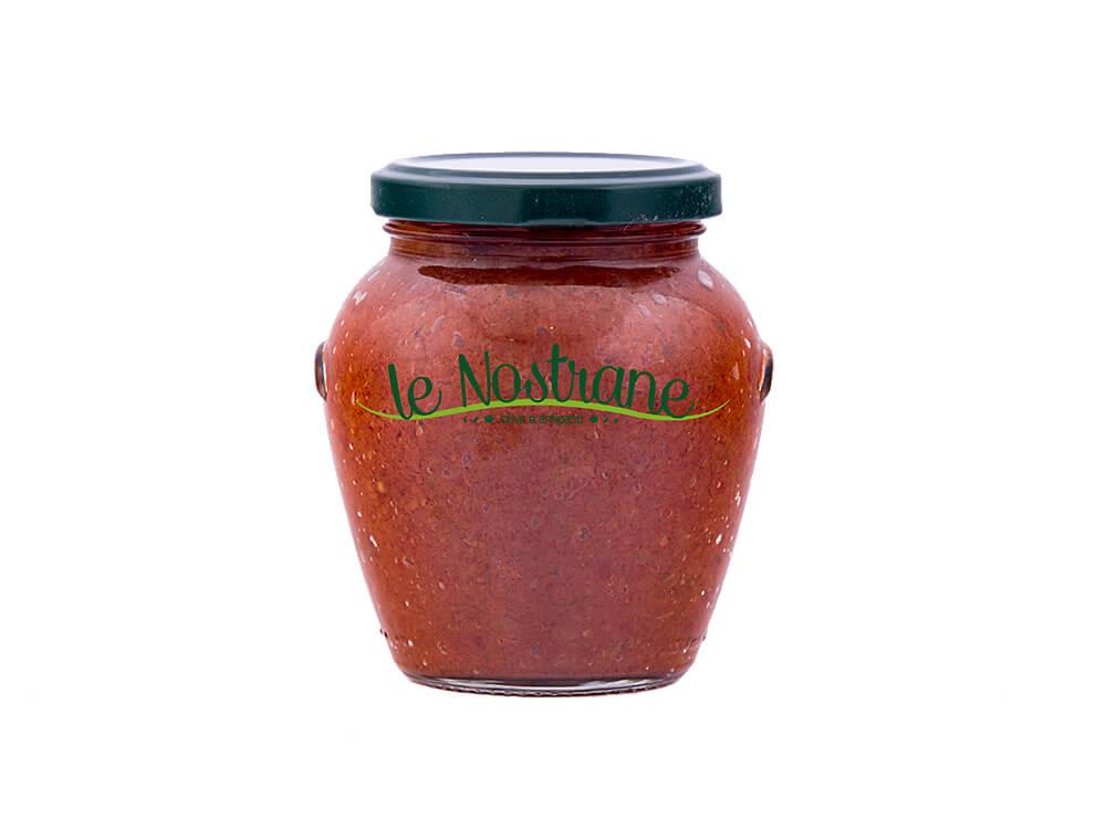 תמונת מוצר ראשית_צנצנת ממרח עגבניות שרי איטלקי