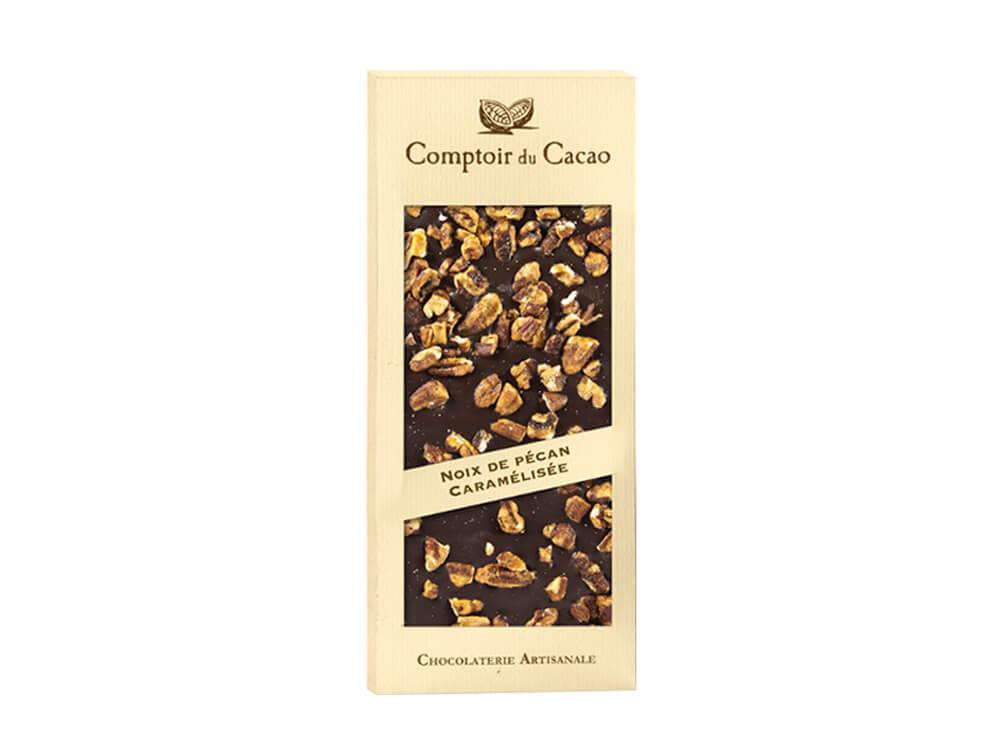 תמונת מוצר ראשית_שוקולד מריר בתוספת פקאן מקורמל_01