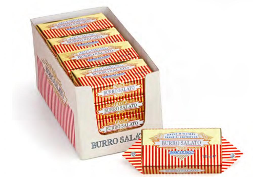 9000141 חמאה איטלקית משובחת פאולי 125 גרם